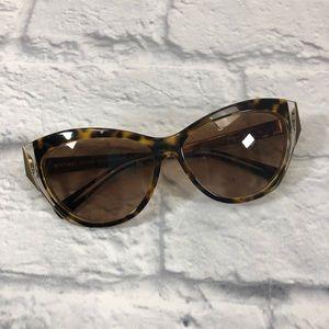 Michael Kors tortoiseshell gold sunglasses **